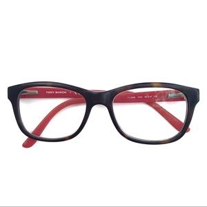 Tory Burch TY2038 Red and Tortoiseshell Glasses